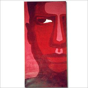 Modell rouge - Acryl auf Leinwand 50 x 90 cm