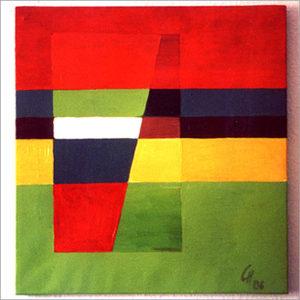 Caree - Acryl auf Leinwand 58 x 54 cm